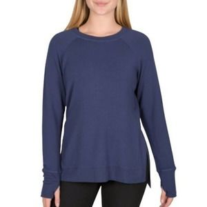 NWT Active Life Blue Long Sleeve Size Small